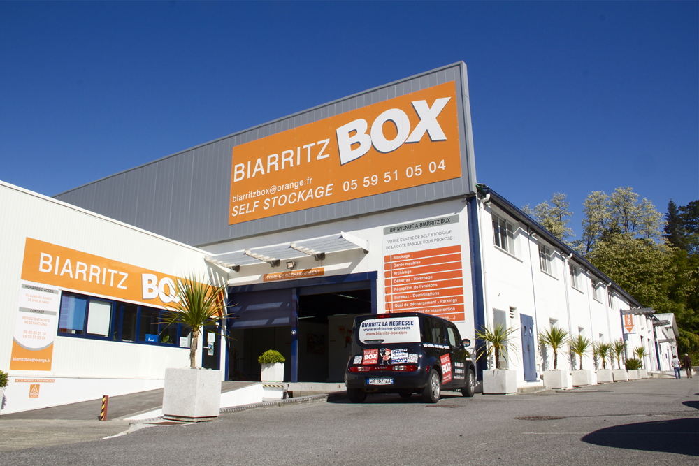 Biarritz Box Libre Stockage Et Boxes Village Iraty Biarritz